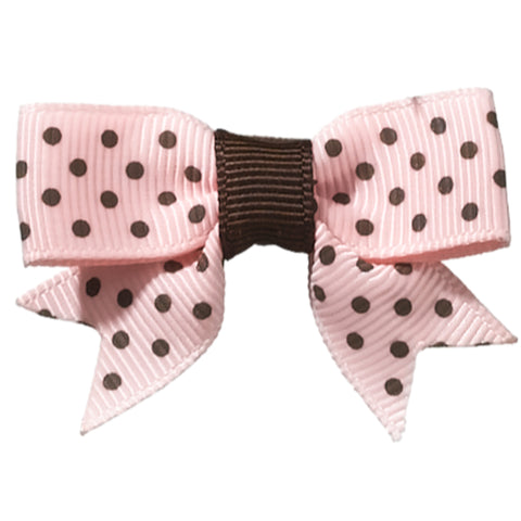 Dottie Polka-Dot Baby Bows - Hairclippy