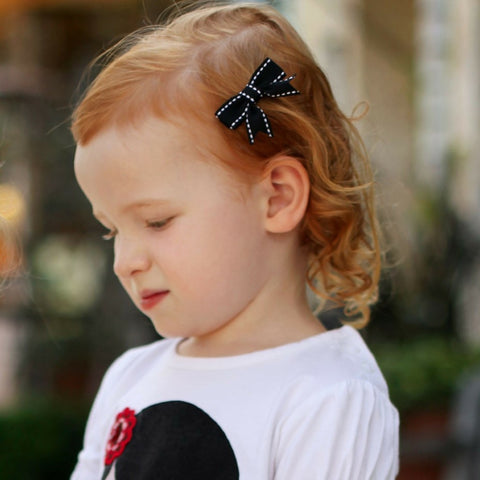 Abby 6 Pack Baby and Toddler Bows - Hairclippy