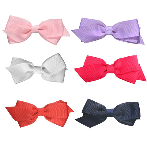 Whitney Princess 6 Pack Hair Bows - Hairclippy