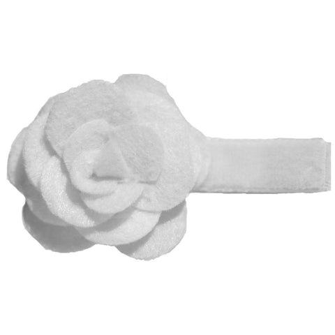 Brooklyn Felt Flower Hair Clip ** - Hairclippy