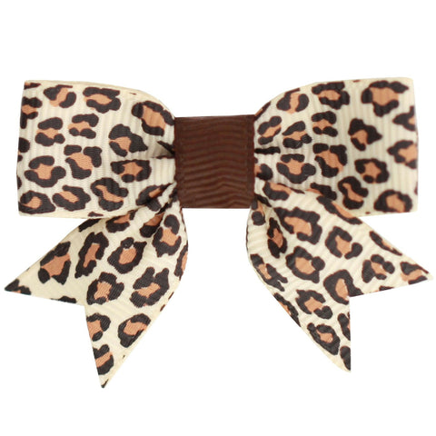 Tatum Animal Print Bows - Hairclippy