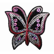 Keira Sequined Butterfly Toddler Hair Clip