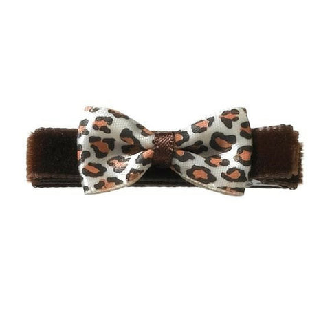 Blair Animal Print Bows - Hairclippy