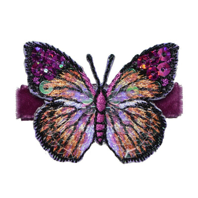 Blake Glitter Butterfly Toddler Hair Clips - Hairclippy