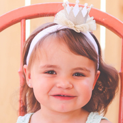 Gabriella Princess Crown Toddler Headband - Hairclippy