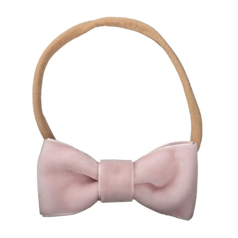 Skinny Headband with Sadie Velvet Bowtie Bow