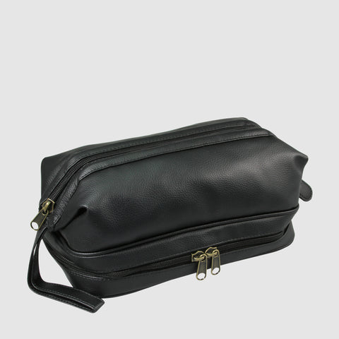 Jumbo Dopp Kit w/Zip Bottom