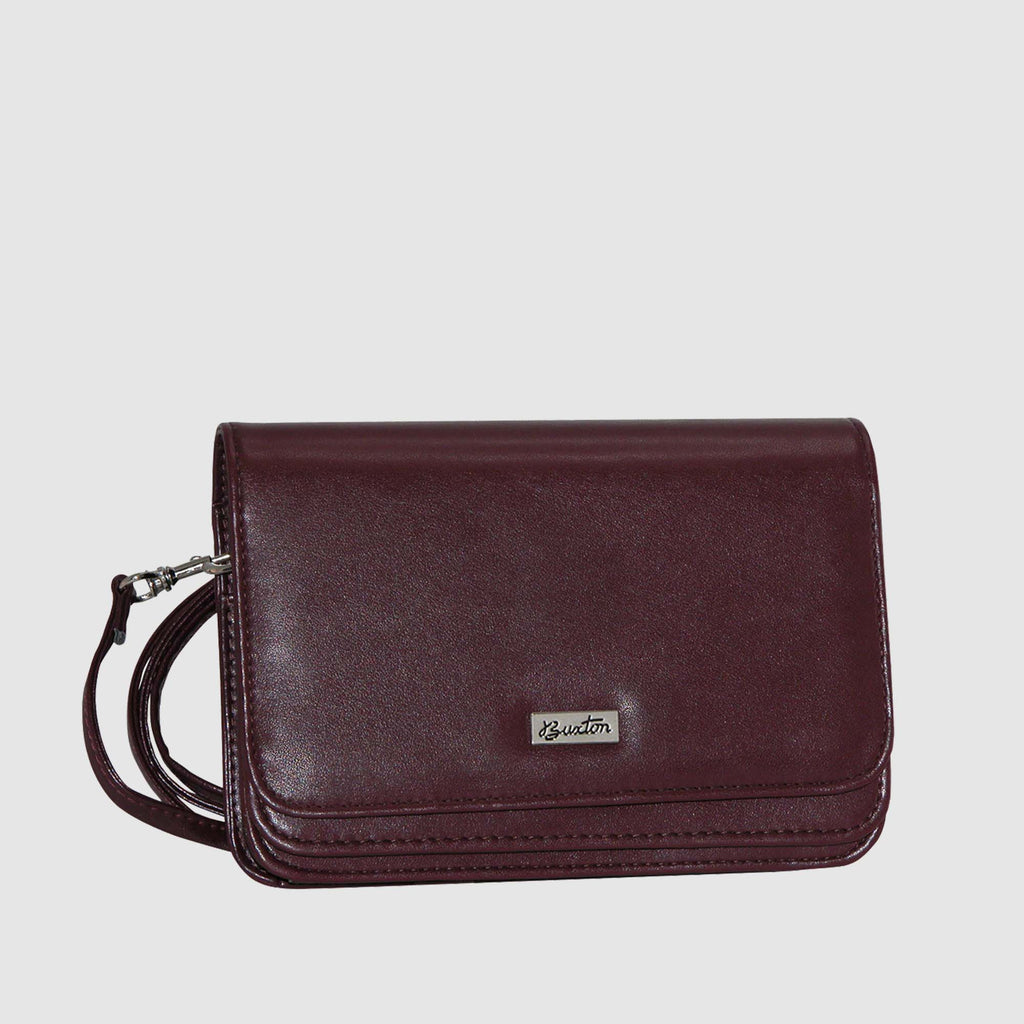 Burgundy, Mini-bag-double-flap