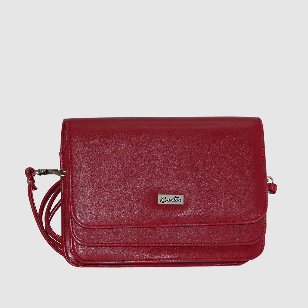 Red, Mini-bag-double-flap