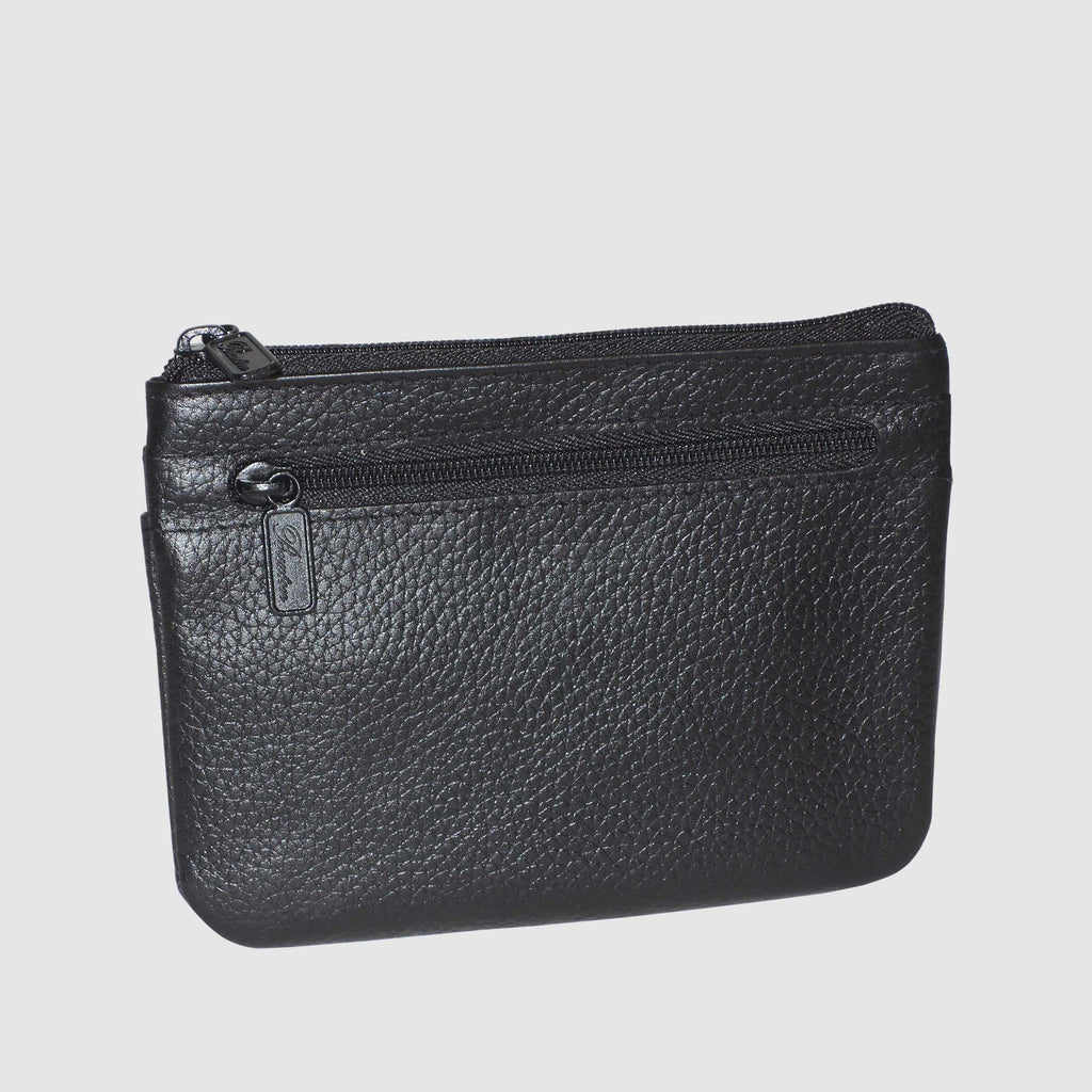Buxton Coin /& Card Case,Black