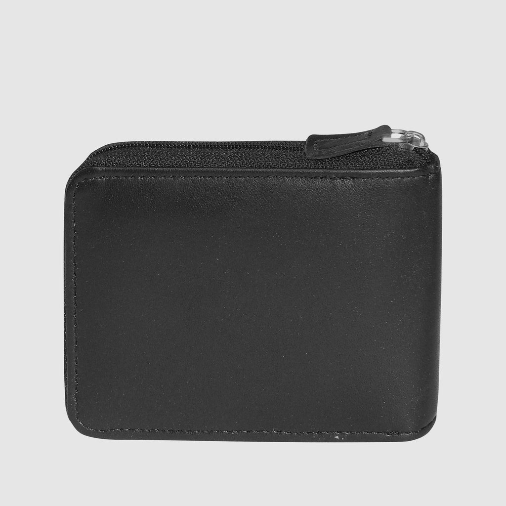 Emblem Zip-Around Convertible Wallet