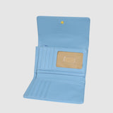 PEBBLE GRAIN MID SIZE TRIFOLD with RFID