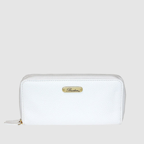 JULIA SLIM DOUBLE ZIP WALLET with RFID