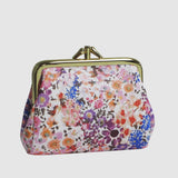 WILDFLOWER TRIPLE FRAME COIN PURSE