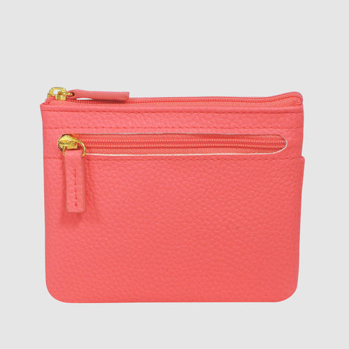 JULIA PIK ME UPS - LARGE ID COIN CARD CASE with RFID