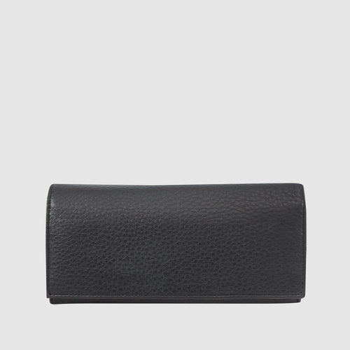 Chelsea Leather - Clutch Wallet with RFID