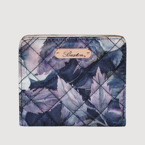 Quilted Luxe  - Medium Snap Billfold with RFID