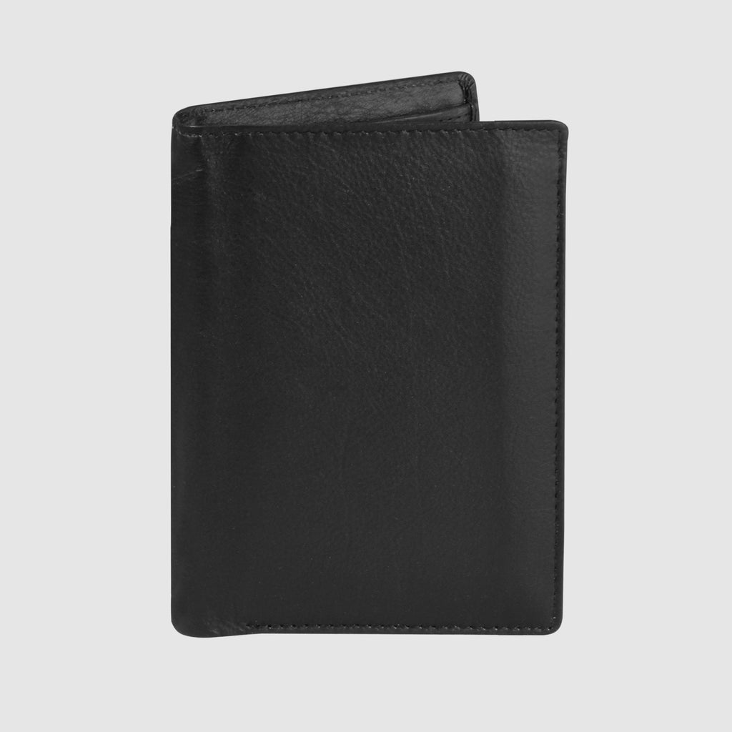 Black, Huston-rfid-collection-deluxe-two-fold