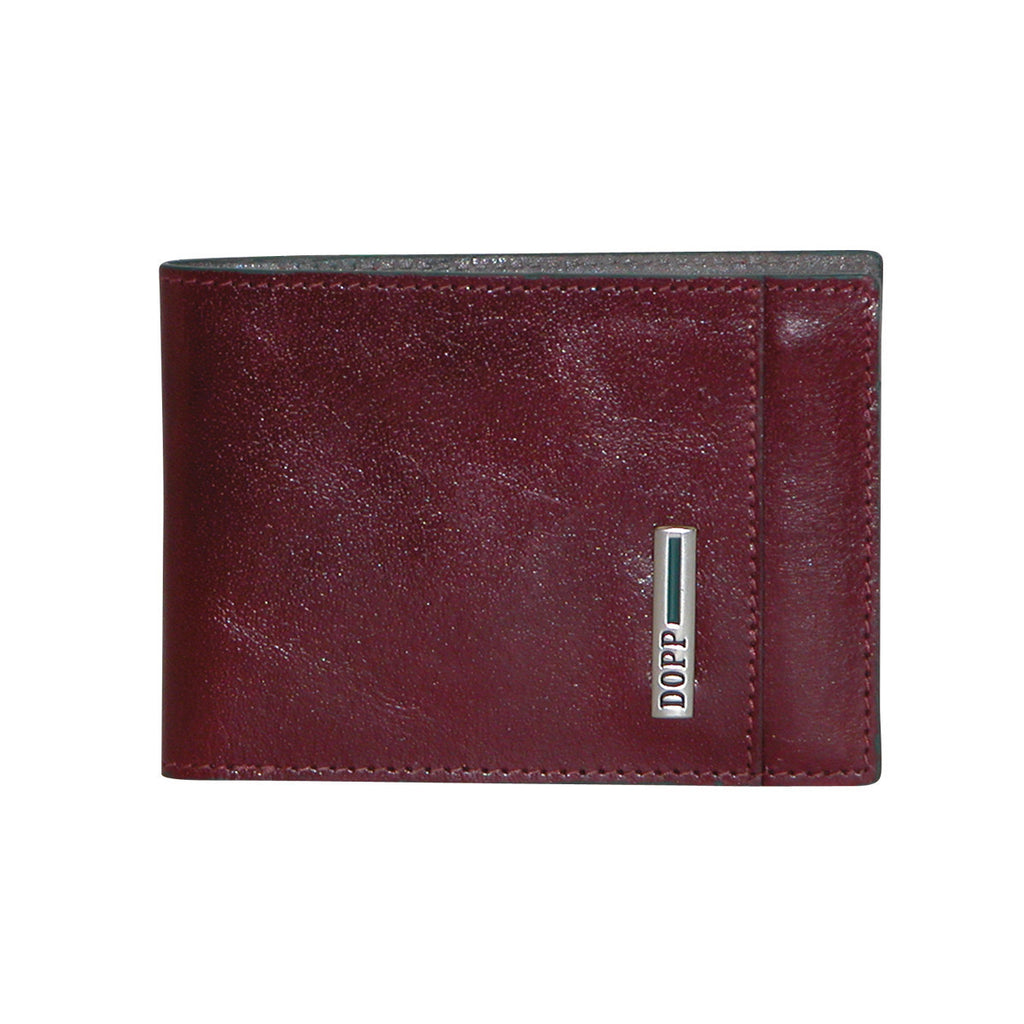 Burgundy, Dopp-rfid-beta-collection-front-pocket-slimfold