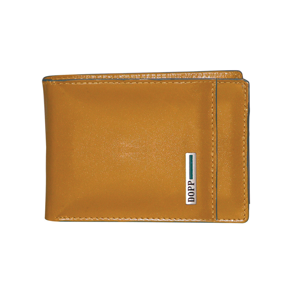 Gold, Dopp-rfid-beta-collection-front-pocket-slimfold