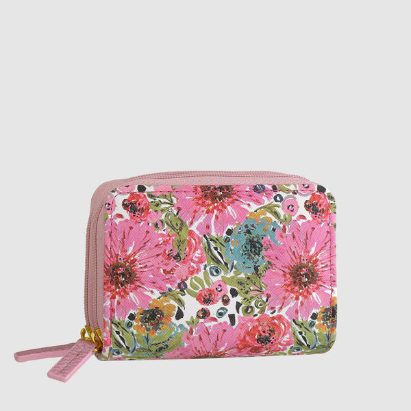 SPRING IN BLOOM WIZARD WALLET with RFID