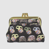 MASQUERADING CATS TRIPLE FRAME COIN PURSE