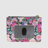 Floral Sunshine - Slot Coin Pouch with RFID