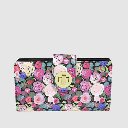 Floral Sunshine - Superwallet with RFID