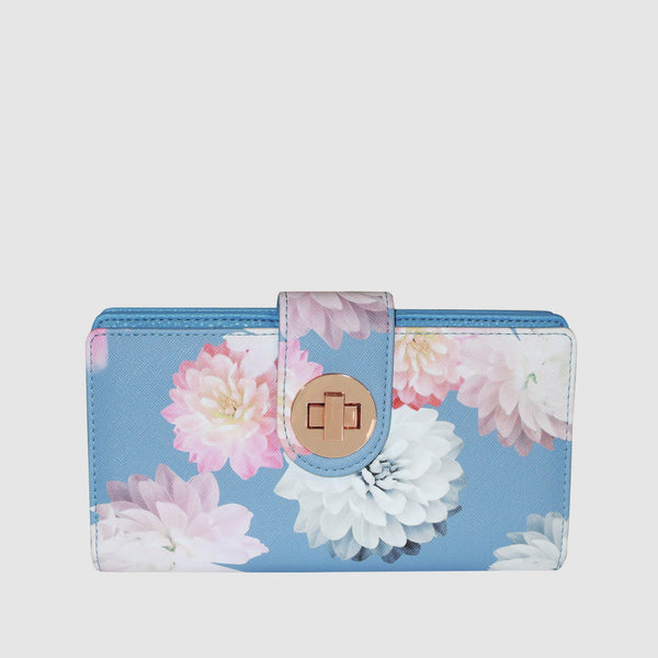 PHOTO FLORAL SUPER WALLET