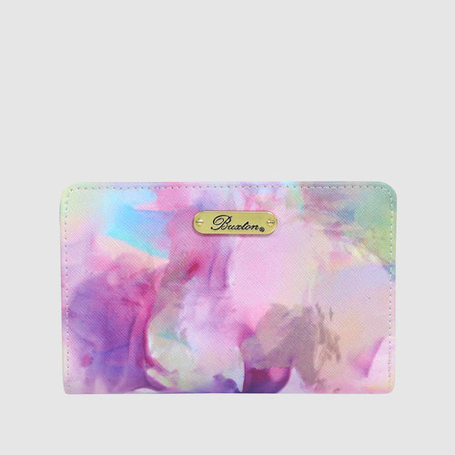 WATERCOLOR TIE DYE -  COMPACT WALLET with RFID