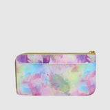 WATERCOLOR TIE DIE L ZIP WRISTLET with RFID