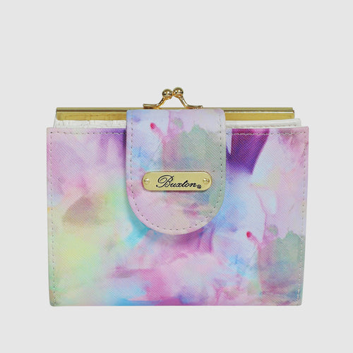 WATERCOLOR TIE DYE -  LEXINGTON WALLET with RFID