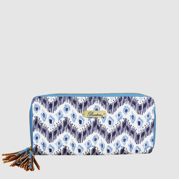 IKAT WAVE SLIM DOUBLE ZIP with RFID