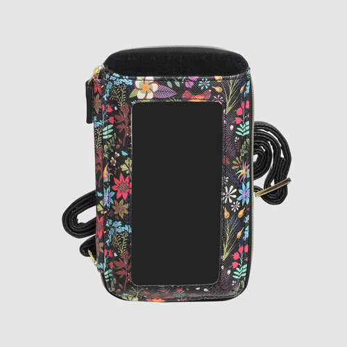SUMMER GARDEN EVERYWHERE CROSSBODY with RFID
