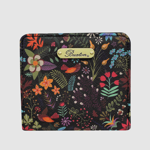 SUMMER GARDEN MINI SNAP WALLET with RFID