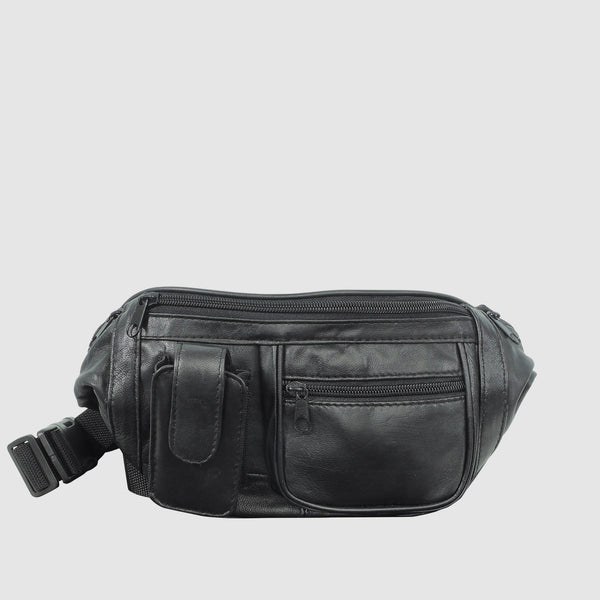 Buxton Leather Bike Bag