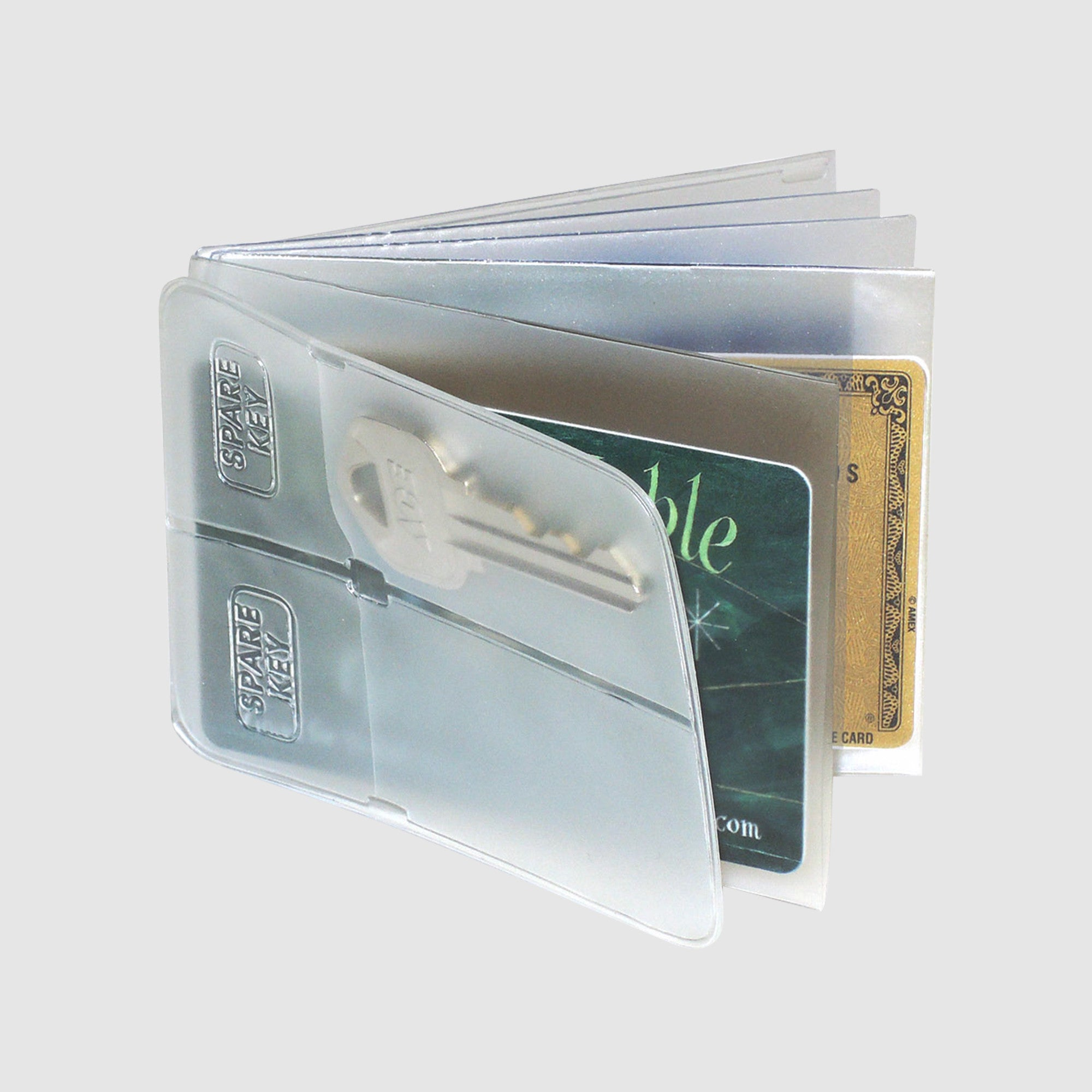 Window Book - Passcase Billfold - Clear
