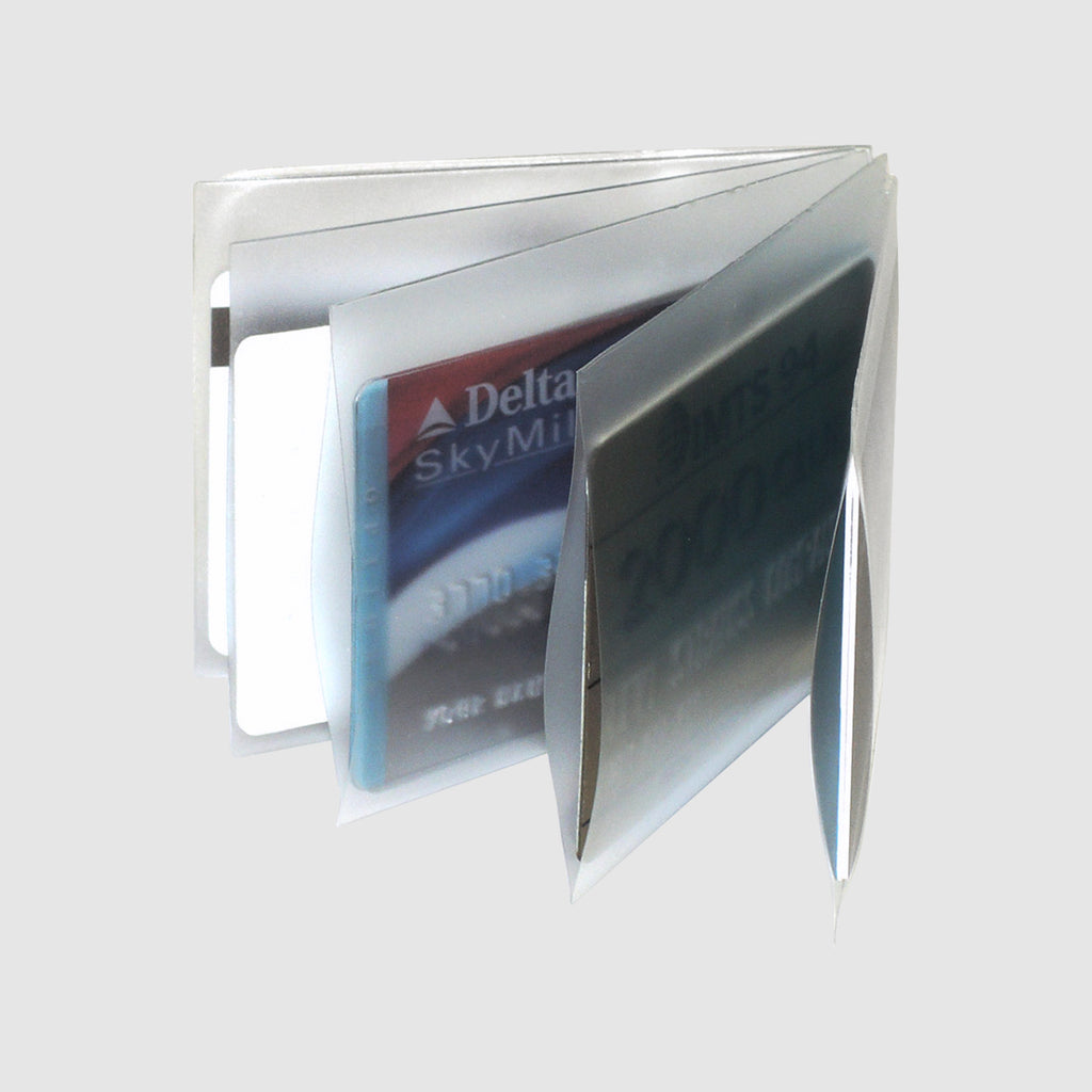 Clear, Window-book-passcase-billfold
