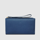Amalfi Leather Wristlet