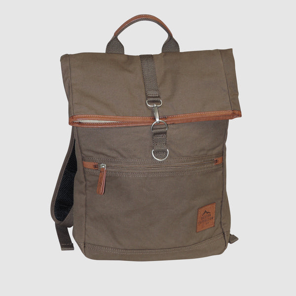 Buxton - Expedition Collection - Fold-Over Backpack