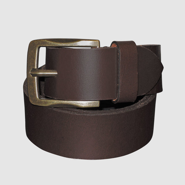 Buxton - Expedition Collection - Campfire Jean Belt - Dark Brown