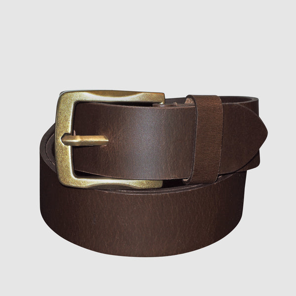 Buxton - Expedition Collection - Campfire Jean Belt - Cognac