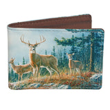 Buxton Wildlife Front Pocket Slimfold