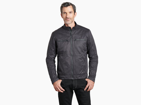 Kuhl Kaffe Racer Jacket Ink Black