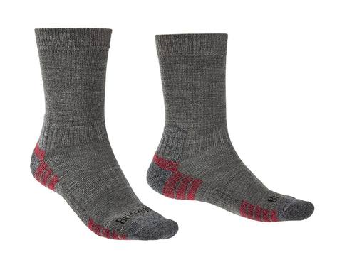 Bridgedale Hike Lightweight Merino Performance Socks Grey / Heather
