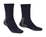 Bridgedale Hike Lightweight Merino Performance Socks Navy / Grey
