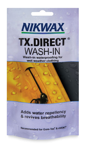 Nikwax TX Direct Wash In 100 ml pouch