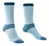 Bridgedale Women's Coolmax Base Layer Liner Socks Sky