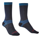 Bridgedale Women's Coolmax Base Layer Liner Socks Navy