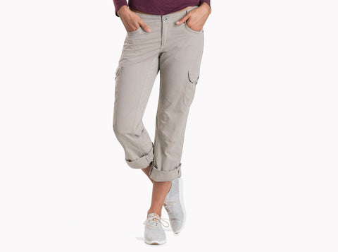 Kuhl Women's Splash Roll Up Pant Light Khaki